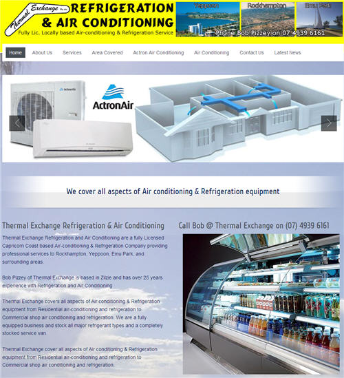 Thermal Exchange Refrigeration and Air Conditioning