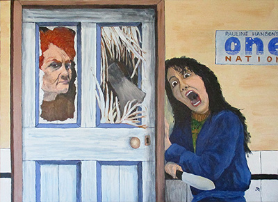 Painting By jeff Quigley Artist Emu Park The Shining Of Pauline (Mar2019)